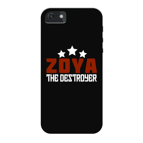 Zoya The Destroyer - Glow Phone Case, , Feminist Gift-Feminist Apparel, Feminist Gift, Feminist Phone Case-The Spark Company-The Spark Company