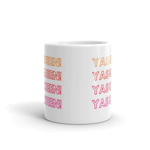 Yas Queen - Queer Eye LGBT Coffee Mug, Feminist Gift-LGBT Apparel, LGBT Gift, LGBT Coffee Mug-The Spark Company-The Spark Company