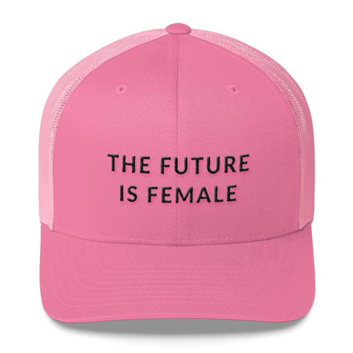 The Future Is Female - Feminist Trucker Hat, Feminist Cap-Feminist Apparel, Feminist Gift, Feminist Cap-The Spark Company-The Spark Company