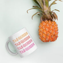 Load image into Gallery viewer, Yas Queen - Queer Eye LGBT Coffee Mug, Feminist Gift-LGBT Apparel, LGBT Gift, LGBT Coffee Mug-The Spark Company-The Spark Company