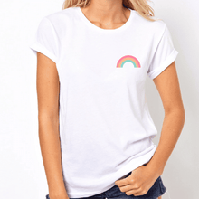 Load image into Gallery viewer, Pastel Pride Rainbow - LGBT T-Shirt-LGBT Apparel, LGBT Clothing, LGBT T Shirt-The Spark Company-The Spark Company