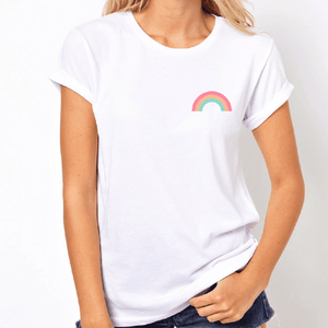 Pastel Pride Rainbow - LGBT T-Shirt-LGBT Apparel, LGBT Clothing, LGBT T Shirt-The Spark Company-The Spark Company