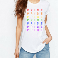 Load image into Gallery viewer, Pride Spectrum - LGBT T-Shirt-LGBT Apparel, LGBT Clothing, LGBT T Shirt-The Spark Company-The Spark Company