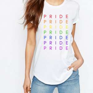 Pride Spectrum - LGBT T-Shirt-LGBT Apparel, LGBT Clothing, LGBT T Shirt-The Spark Company-The Spark Company