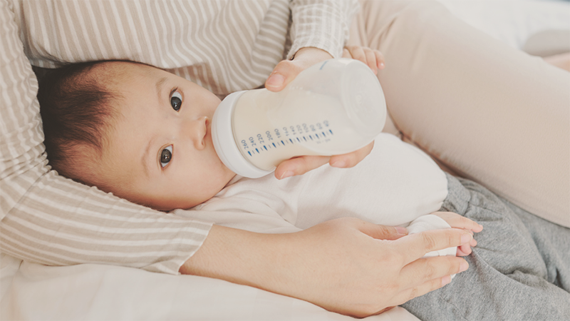 Relief for Constipation in Formula-fed Babies