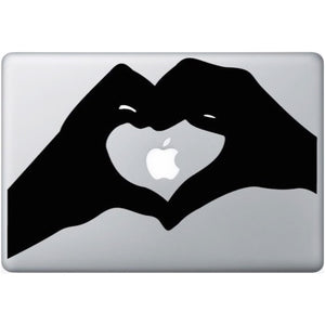 Sticker MacBook CŒUR MAIN