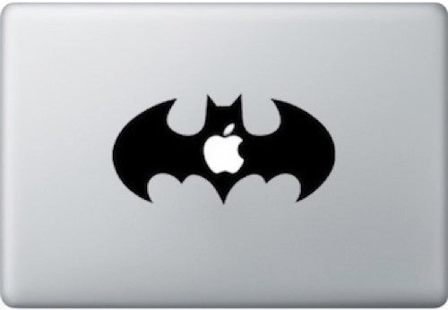 Sticker MacBook LOGO BATMAN