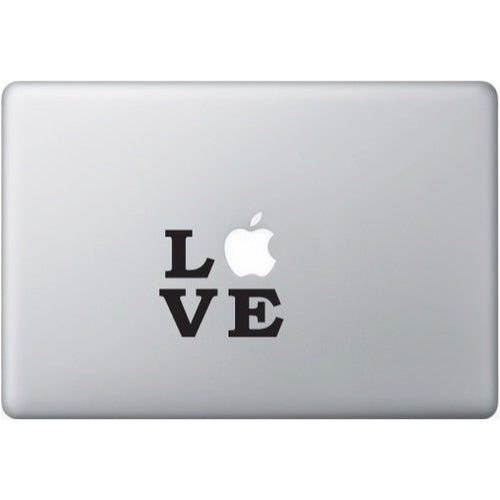 Sticker MacBook LOVE NEW YORK