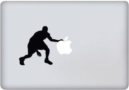 Sticker MacBook BASKETTEUR JORDAN