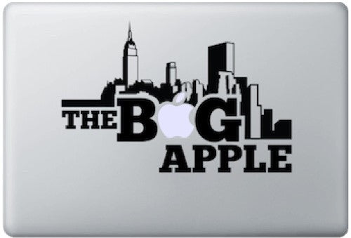 Sticker MacBook THE BIG APPLE