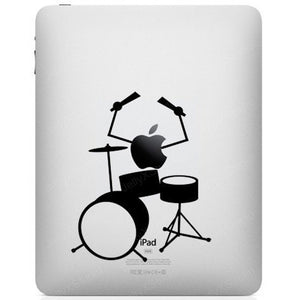 Sticker iPad BATTEUR