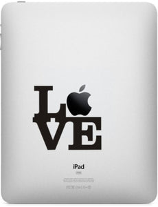 Sticker iPad LOVE NEW YORK