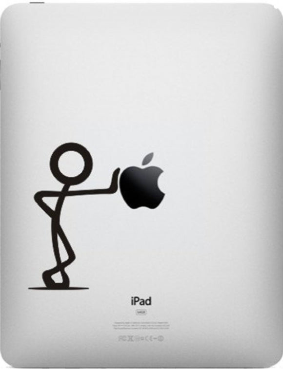 Sticker iPad STICKMAN DEBOUT