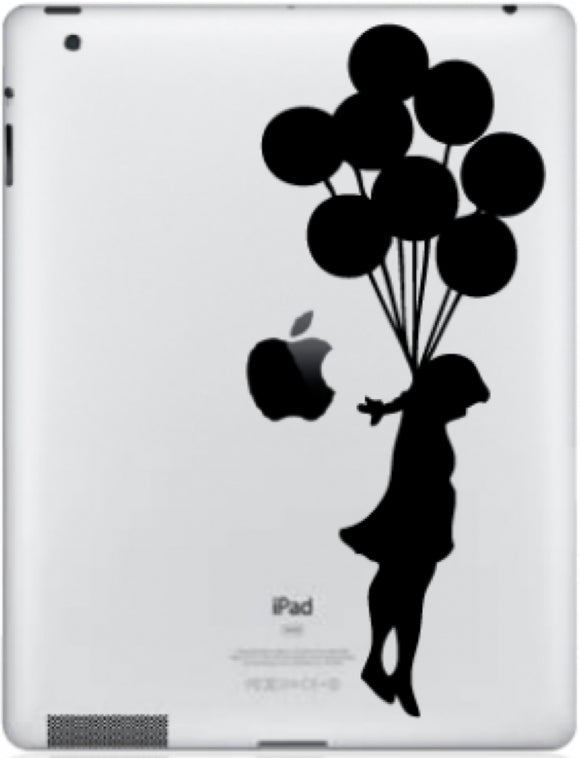 Sticker iPad FILLE BALLONS