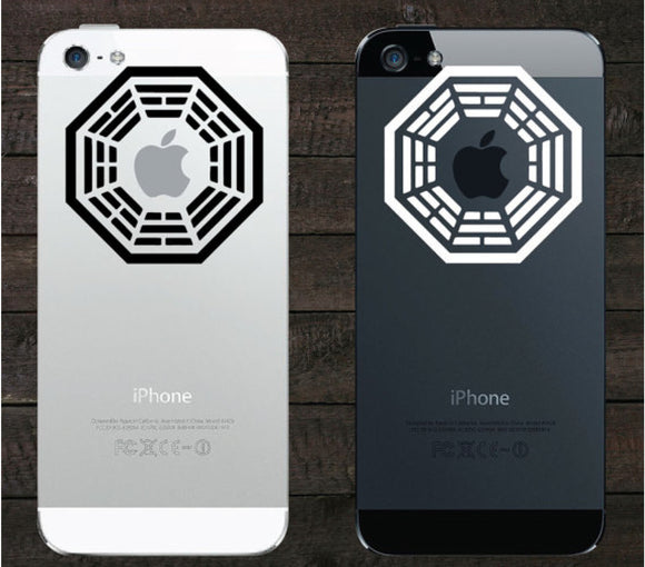 Sticker iPhone LOST DHARMA INITIATIVE