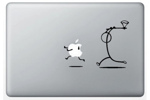 Sticker MacBook STICKMAN HACHE