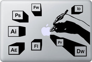 Sticker MacBook ADOBE