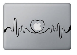Sticker MacBook ÉLECTROCARDIOGRAMME