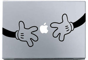 Sticker MacBook MAINS MICKEY DISNEY