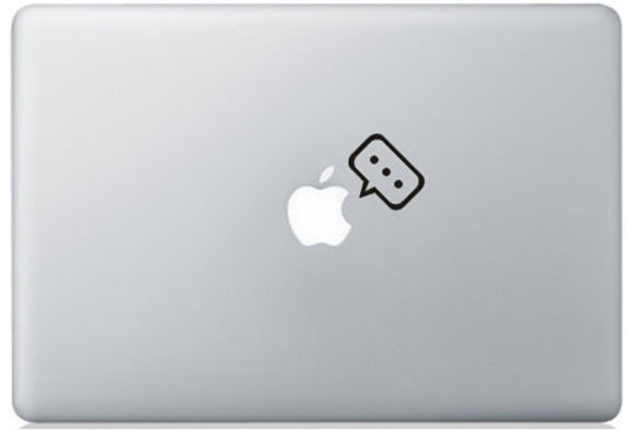 Sticker MacBook IDEE EN TETE