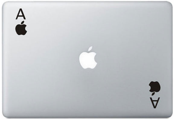 Sticker MacBook AS DE POMME