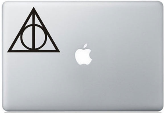 Sticker MacBook RELIQUE DE LA MORT HARRY POTTER