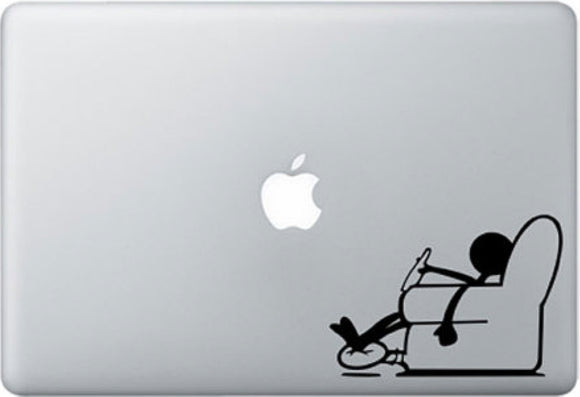 Sticker MacBook BONHOMME RELAX CANAPE