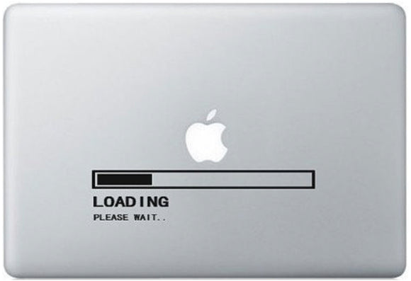 Sticker MacBook LOADING