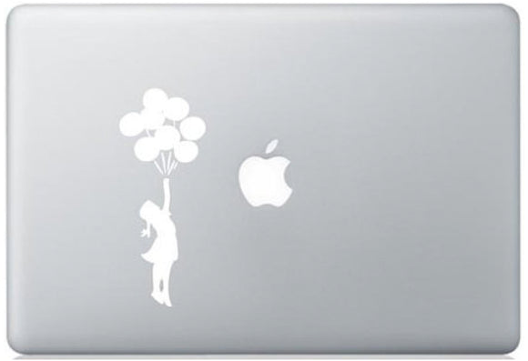 Sticker MacBook FILLE BALLONS