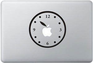 Sticker MacBook HORLOGE