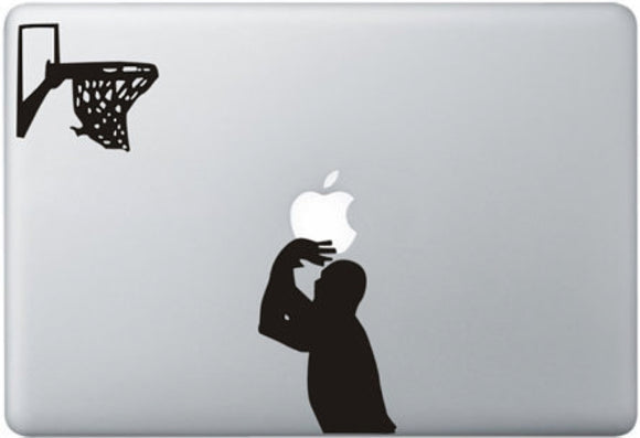 Sticker MacBook BASKETTEUR PANIER