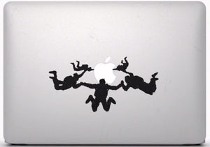 Sticker MacBook PARACHUTISTES