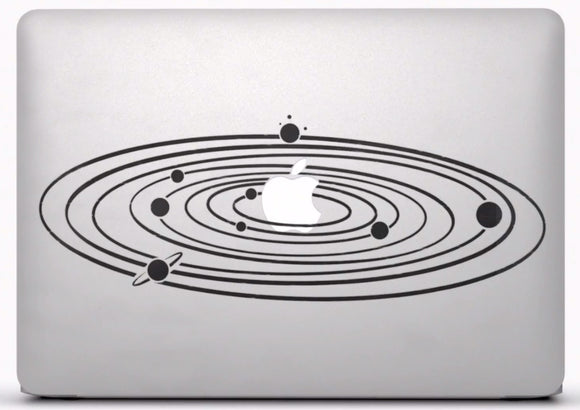 Sticker MacBook SYSTEME SOLAIRE