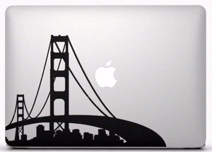 Sticker MacBook PONT DE SAN FRANCISCO