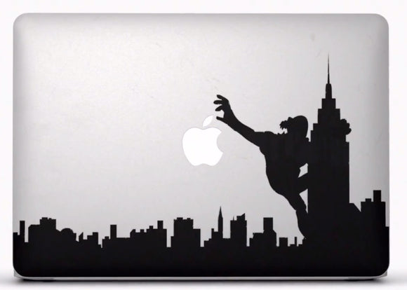 Sticker MacBook NEW YORK KING KONG