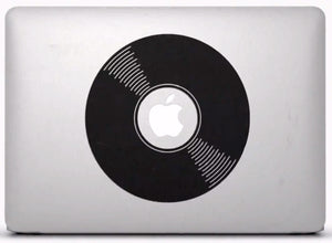 Sticker MacBook DISQUE VINYLE