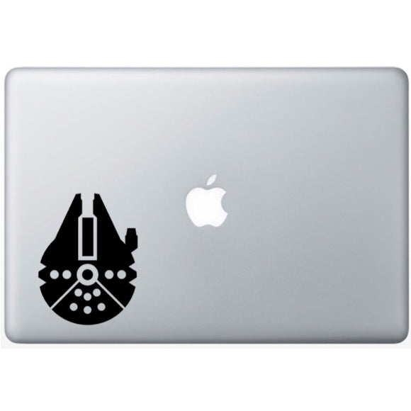 Sticker MacBook VAISSEAU FAUCON MILLENIUM STAR WARS
