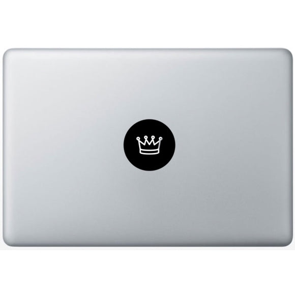 Sticker MacBook COURONNE KING ROI
