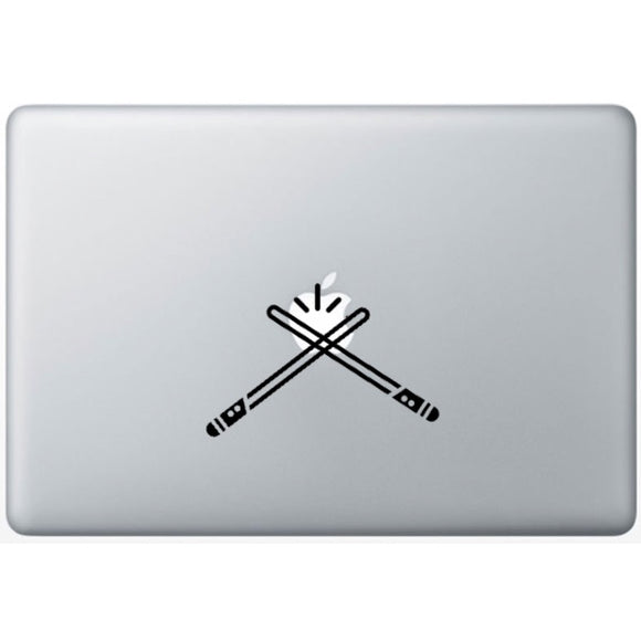 Sticker MacBook SABRE LASER JEDI STAR WARS