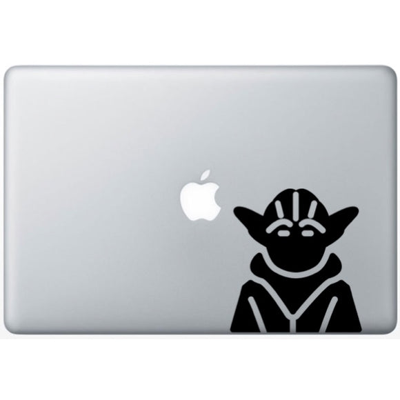 Sticker MacBook MAITRE YODA JEDI STAR WARS