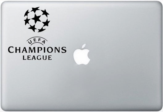 Sticker MacBook CHAMPIONS LEAGUE