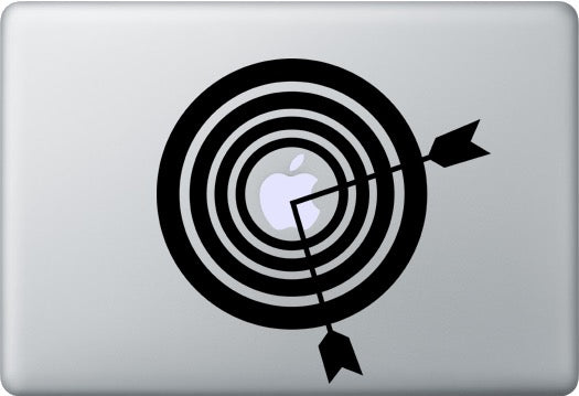 Sticker MacBook CIBLE