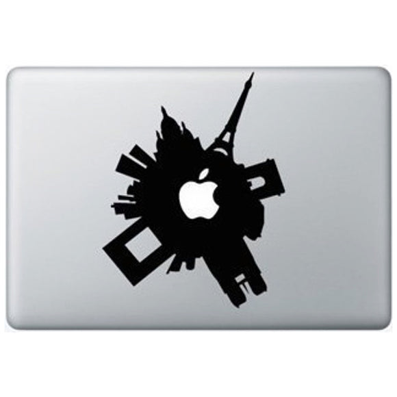 Sticker MacBook PARIS EN FOLIE