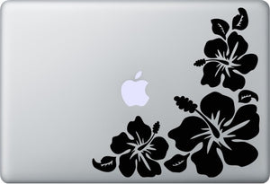 Sticker MacBook HIBISCUS