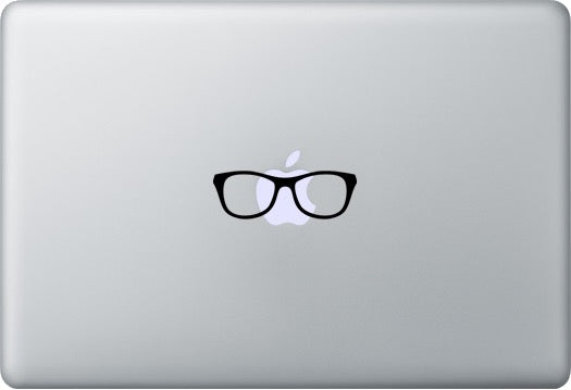 Sticker MacBook LUNETTES