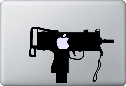 Sticker MacBook UZI