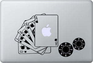 Sticker MacBook POKER