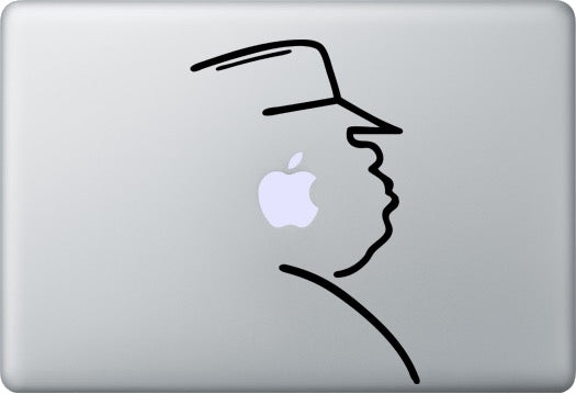 Sticker MacBook NOTORIOUS BIG