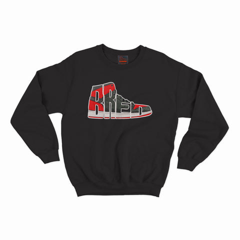 Bred Essentials Classic Crewneck - Black
