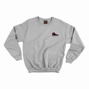 Bred Essentials Crewneck -  Heather Grey